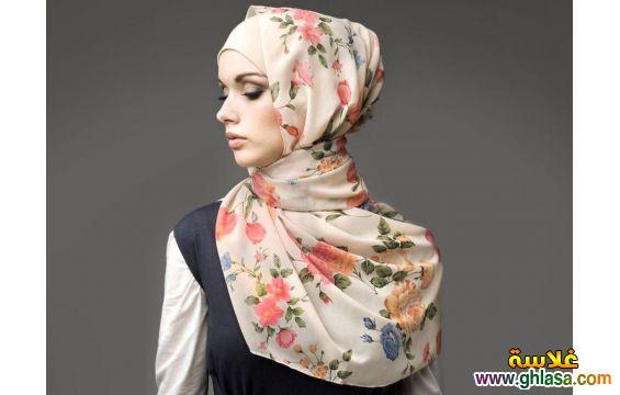محجبه انيقه  لاختيارك حجاب انيق بالون الورد 2018 ghlasa1376676905921.jpg