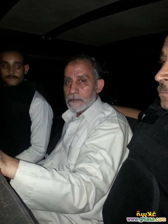 صور القبض على محمد بديع فى مدينة نصر اليوم 20 اغسطس 2018 ghlasa1376956394361.jpg