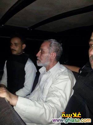 صور القبض على محمد بديع فى مدينة نصر اليوم 20 اغسطس 2018 ghlasa1376956394422.jpg