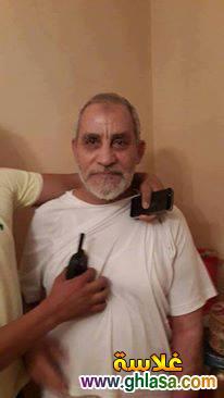 صور القبض على محمد بديع فى مدينة نصر اليوم 20 اغسطس 2018 ghlasa1376956498541.jpg