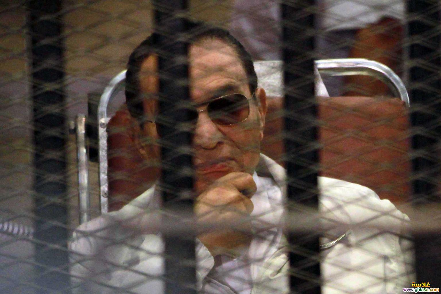 اول صور  مبارك خارج السجن 2018 ghlasa1377487719491.jpg