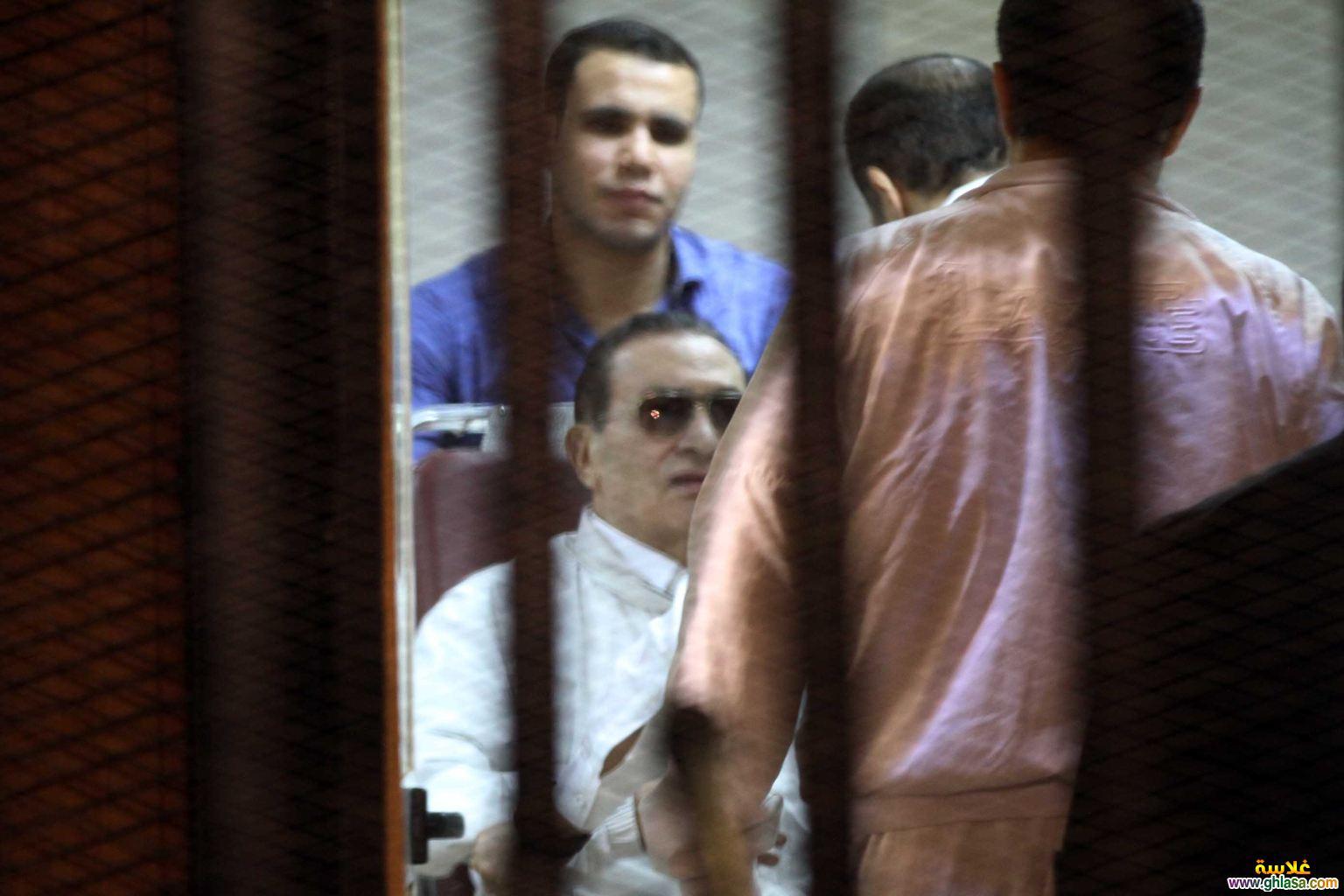 اول صور  مبارك خارج السجن 2018 ghlasa1377487719582.jpg