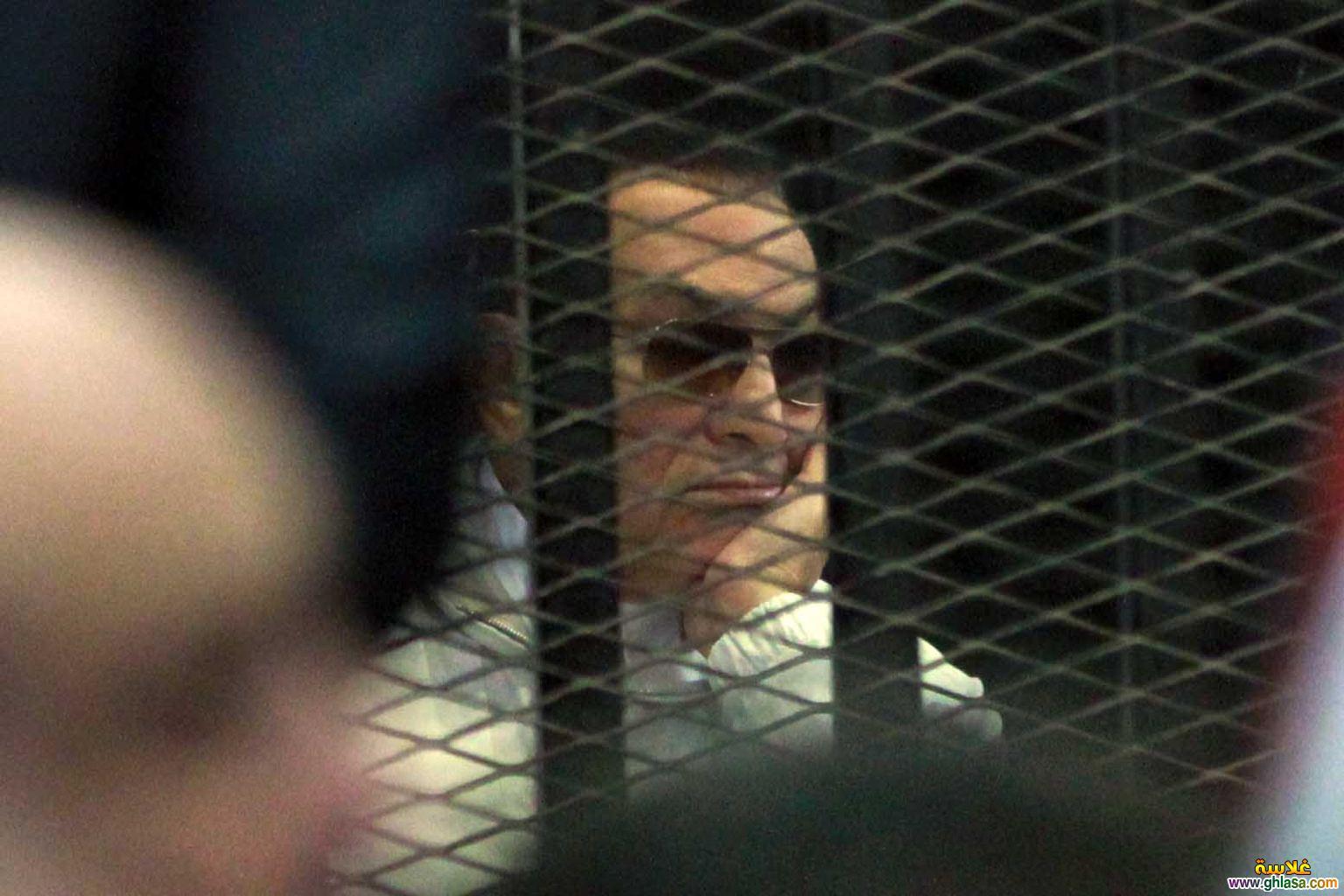اول صور  مبارك خارج السجن 2018 ghlasa1377487726031.jpg