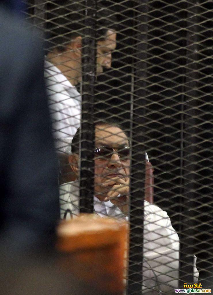 اول صور  مبارك خارج السجن 2018 ghlasa1377487726122.jpg