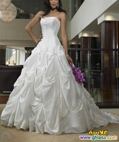 فستان زفاف ليلة العمر 2018 ، فساتين زفاف ملكة الحب 2018 ghlasa1377491766331.jpg