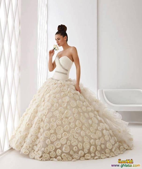 فستان زفاف ليلة العمر 2018 ، فساتين زفاف ملكة الحب 2018 ghlasa1377491766496.jpg