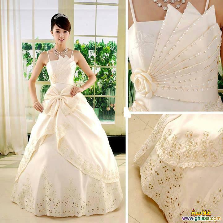فستان زفاف ليلة العمر 2018 ، فساتين زفاف ملكة الحب 2018 ghlasa1377491766527.jpg