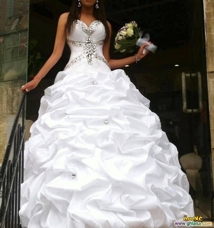 فستان زفاف ليلة العمر 2018 ، فساتين زفاف ملكة الحب 2018 ghlasa1377491766578.jpg