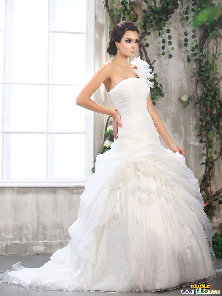 فستان زفاف ليلة العمر 2018 ، فساتين زفاف ملكة الحب 2018 ghlasa1377491766619.jpg