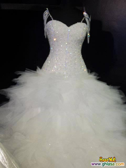 احدث فساتين زفاف 2019 ، فساتين قمر البنات 2019 ، صور فساتين زفاف موديلات 2019 ghlasa1377492106952.jpg