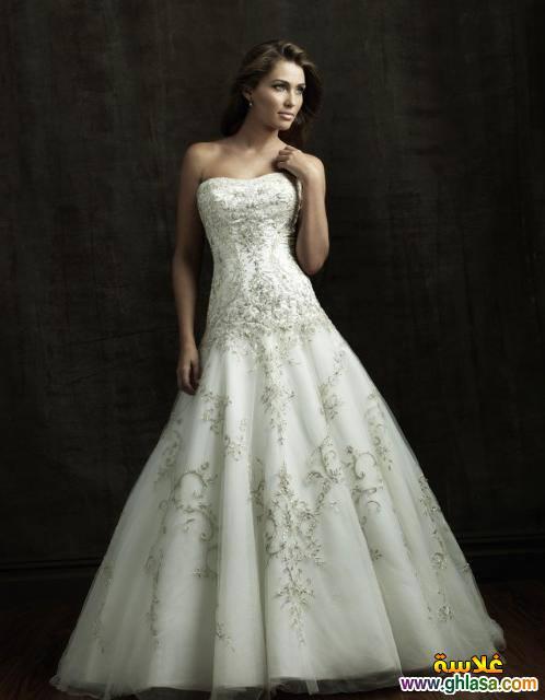 احدث فساتين زفاف 2018 ، فساتين قمر البنات 2018 ، صور فساتين زفاف موديلات 2018 ghlasa1377492106983.jpg