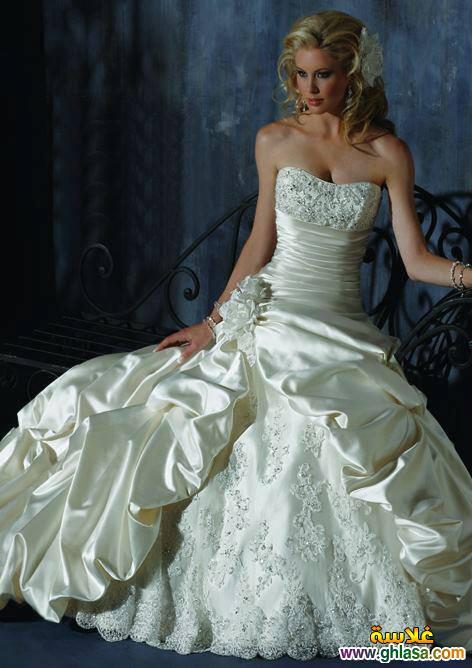 احدث فساتين زفاف 2019 ، فساتين قمر البنات 2019 ، صور فساتين زفاف موديلات 2019 ghlasa1377492107014.jpg