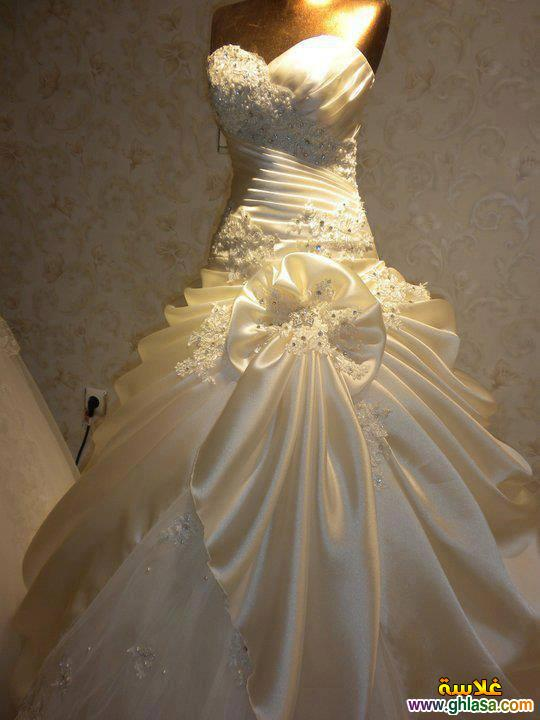 احدث فساتين زفاف 2018 ، فساتين قمر البنات 2018 ، صور فساتين زفاف موديلات 2018 ghlasa1377492107158.jpg
