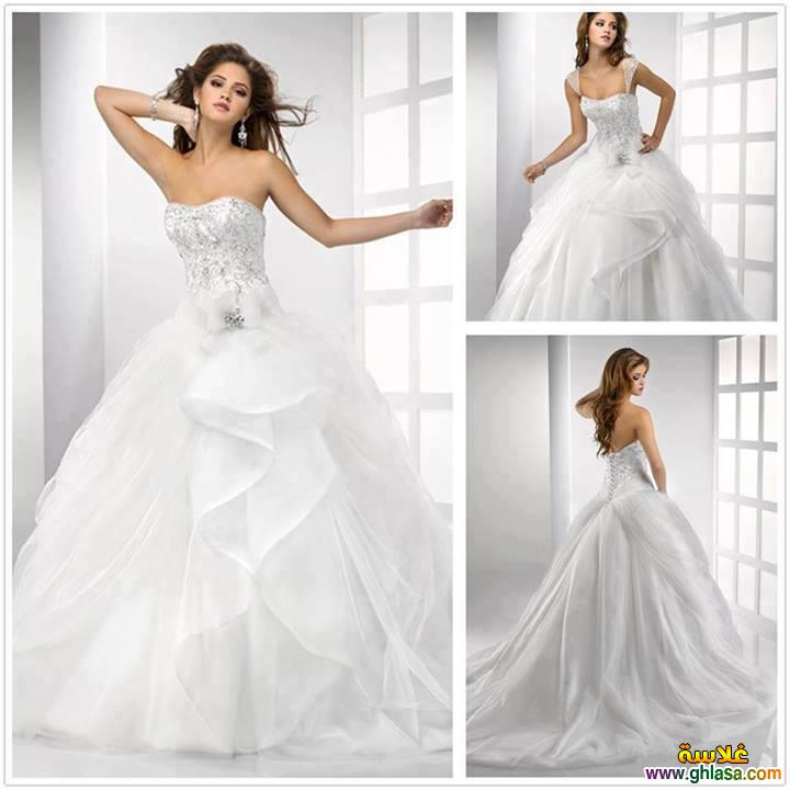 احدث فساتين زفاف 2019 ، فساتين قمر البنات 2019 ، صور فساتين زفاف موديلات 2019 ghlasa13774921072310.jpg