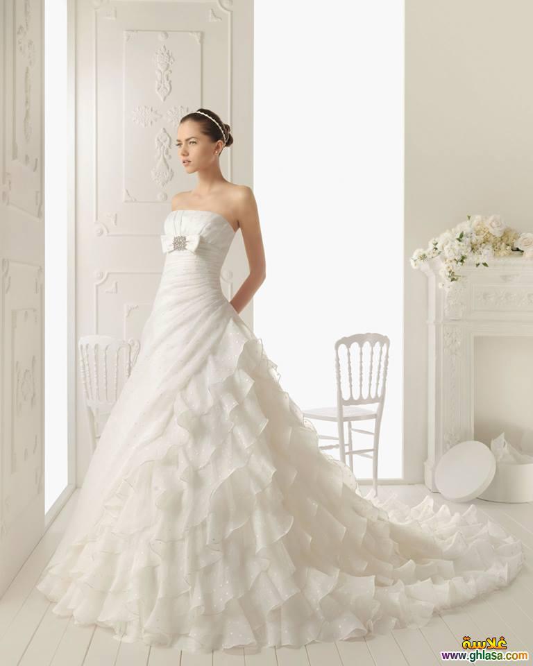 اروع تشكيلة فساتين زفاف جميلة بنات 2018 ، صور فستان الزفاف الجديد المميز 2018 ghlasa1377493020892.jpg