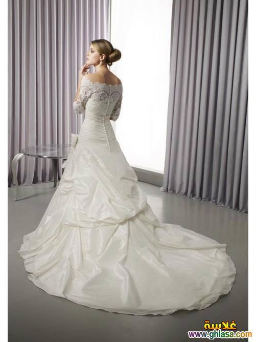 اروع تشكيلة فساتين زفاف جميلة بنات 2018 ، صور فستان الزفاف الجديد المميز 2018 ghlasa1377493020994.jpg