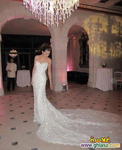 اروع تشكيلة فساتين زفاف جميلة بنات 2018 ، صور فستان الزفاف الجديد المميز 2018 ghlasa1377493021077.jpg