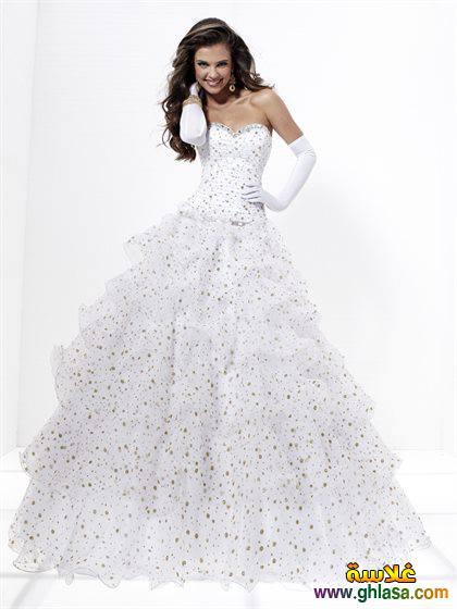 اروع تشكيلة فساتين زفاف جميلة بنات 2018 ، صور فستان الزفاف الجديد المميز 2018 ghlasa1377493021098.jpg