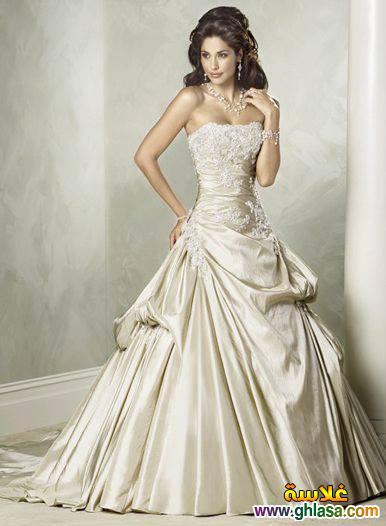 اروع تشكيلة فساتين زفاف جميلة بنات 2018 ، صور فستان الزفاف الجديد المميز 2018 ghlasa13774930211410.jpg