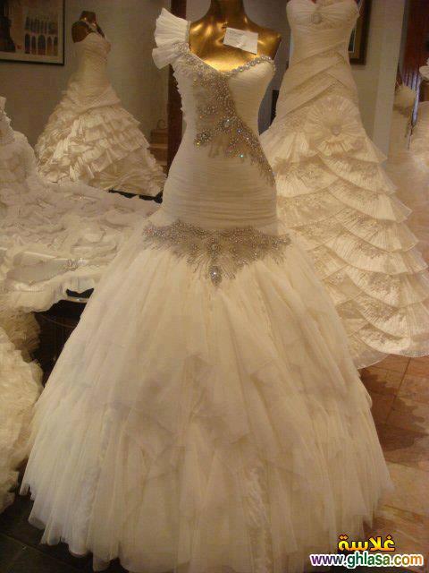 اجمل صور فساتين زفاف ، صور فساتين زفاف 2018 ، مجموعة فساتين ليلة العمر 2018 ghlasa1377493489151.jpg