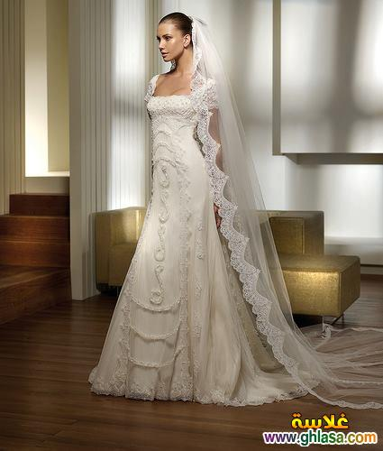 اجمل صور فساتين زفاف ، صور فساتين زفاف 2019 ، مجموعة فساتين ليلة العمر 2019 ghlasa1377493489223.jpg