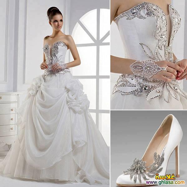 اجمل صور فساتين زفاف ، صور فساتين زفاف 2019 ، مجموعة فساتين ليلة العمر 2019 ghlasa1377493489358.jpg