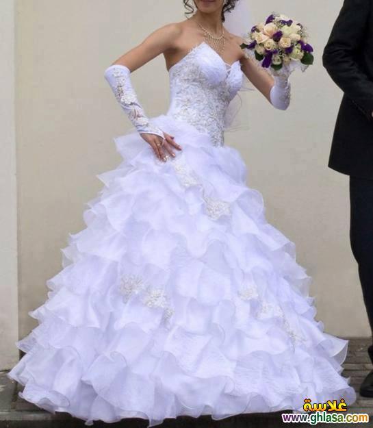 اجمل صور فساتين زفاف ، صور فساتين زفاف 2018 ، مجموعة فساتين ليلة العمر 2018 ghlasa13774934894612.jpg