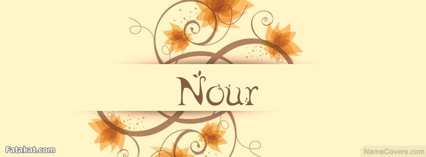 صور غلاف اسم نور 2018 ، صور غلاف فيس بوك اسم نور noor 2018 ghlasa1377543606983.png