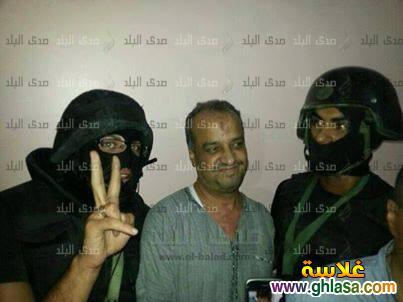 حصري صور البلتاجي ساعة القبض علي اليوم الخميس 2913 ghlasa1377818544022.jpg