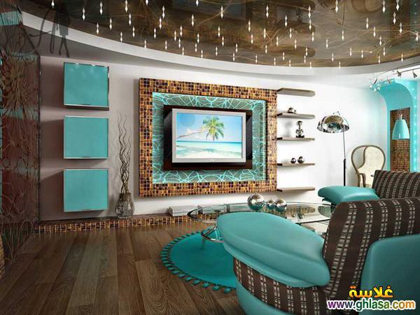 احدث ديكور غرف ,معيشه 2019 اجمل ديكورات غرف ,شاشة البلازمه, لعام 2019 ghlasa1378507184724.jpg