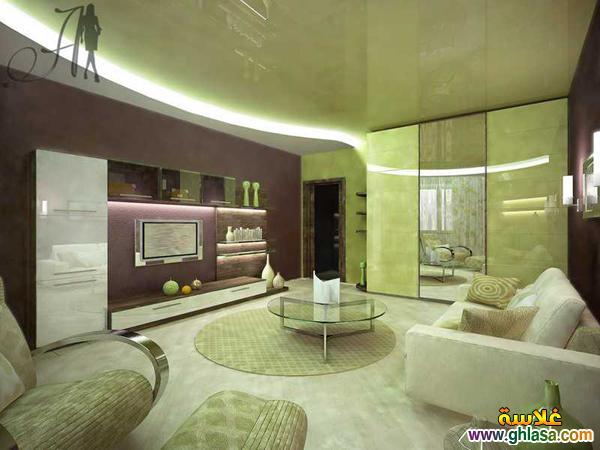 احدث ديكور غرف ,معيشه 2019 اجمل ديكورات غرف ,شاشة البلازمه, لعام 2019 ghlasa137850718517.jpg