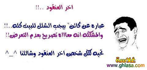 صور كوميكسات مضحكة فيس بوك 2019 ، صور نكت مصرية اساحبى فيسبوك 2019 ghlasa138035179511.jpg