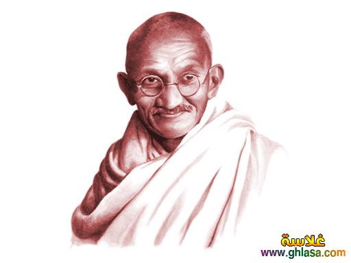 بحث علمى عن مهاتما غاندي ، سيرة ذاتية ومعلومات عن مهاتما غاندي ، موهانداس كرمشاند غاندي ghlasa1381329101511.jpg