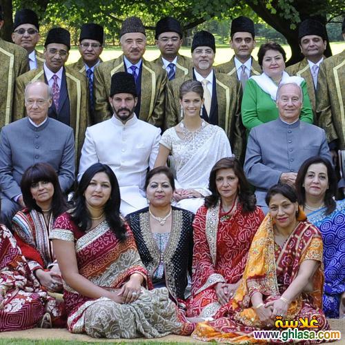صور زفاف  الامير الهندي  رحيم اغا خان من عارضة الازياء السويسريه  كندرا سبير ز  بالطريقه الاسلاميه ghlasa1381338435192.jpg