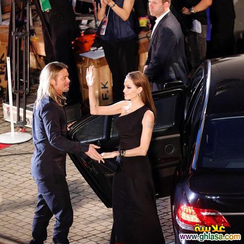 صور جديده انجيلينا جولي وزوجها براد بيت صور الفيلم الجديد حصري لعام 2018 ghlasa1381339352012.jpg