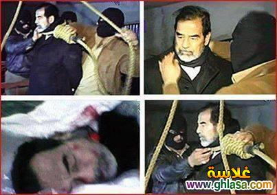 الزكرى الثامنة لاعدام القائد العظيم صدام حسين رحمة الله شاهد ماذا قال قبل اعدامة ghlasa1381687119581.jpg