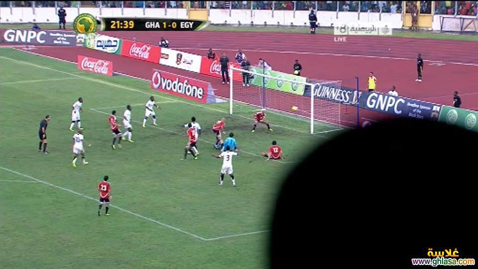 صور من مباراة مصر و غانا ، صور هزيمة منتخب مصر من منتخب غانا اول ايام عيد الاضحى 2018 ghlasa1381857873891.jpg