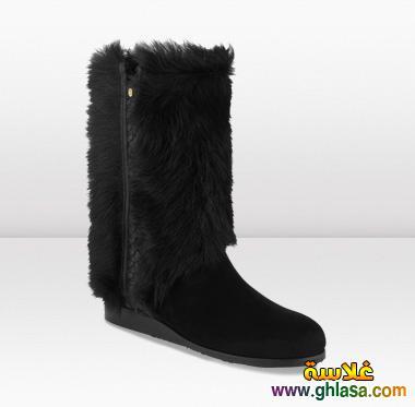 احدث احذيه تصميمات والوان للشتاء صور احدث احذيه شتاء لعام 2019 ghlasa1382489950398.jpg