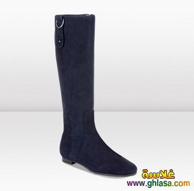 احدث احذيه تصميمات والوان للشتاء صور احدث احذيه شتاء لعام 2019 ghlasa1382490173446.jpg