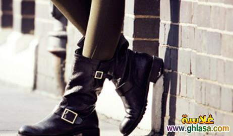 احدث احذيه تصميمات والوان للشتاء صور احدث احذيه شتاء لعام 2019 ghlasa1382490173467.jpg