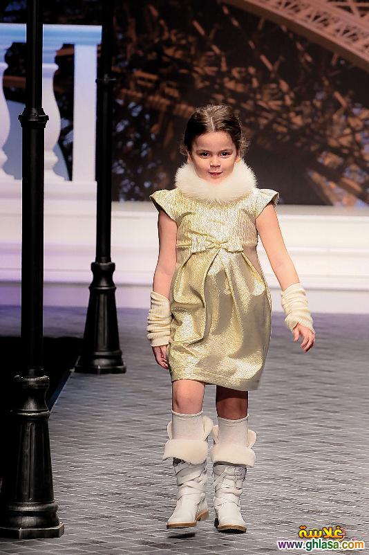 صوراجمل وارق ملابس شتوي للاطفال البنوتات متوسط العمر لعام 2018 ghlasa1382684191542.jpg