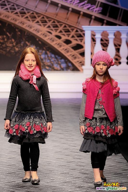 صوراجمل وارق ملابس شتوي للاطفال البنوتات متوسط العمر لعام 2018 ghlasa1382684191655.jpg