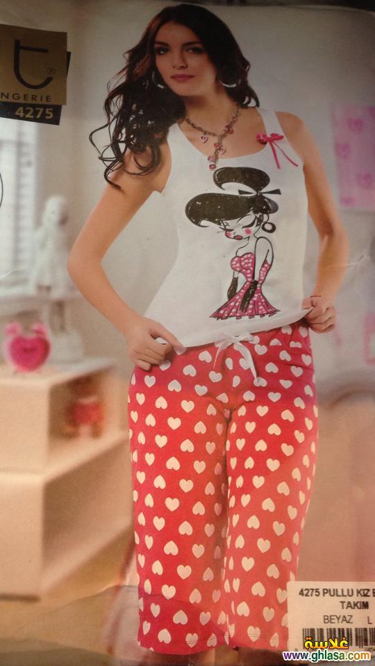 مجموعة صور بيجامات وملابس للبنات للمنزل فقط ghlasa1382685145342.jpg