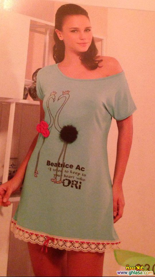مجموعة صور بيجامات وملابس للبنات للمنزل فقط ghlasa1382685145383.jpg