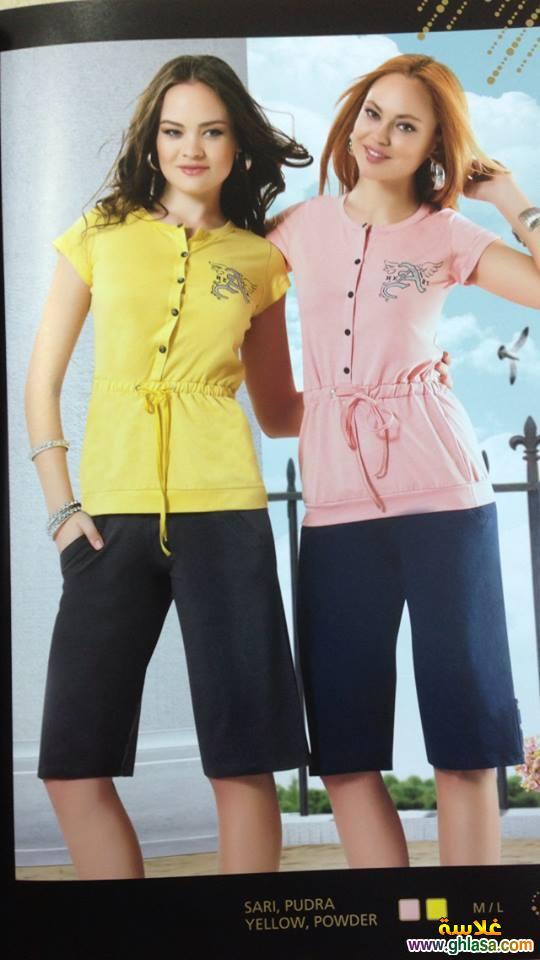 مجموعة صور بيجامات وملابس للبنات للمنزل فقط ghlasa1382685145587.jpg