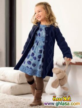 احدث صور ملابس للاطفال الشتوي للبنوتات الصغار ملابس شتوي لعام 2019 ghlasa1382723681815.jpg