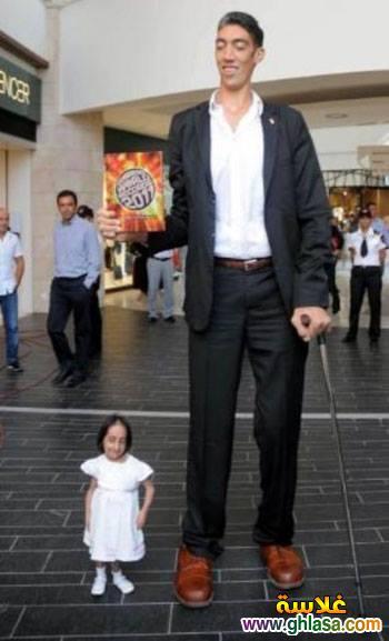 صور حفل زفاف اطول رجل فى العالم على سيدة قصيرة جدا ghlasa1382957913386.jpg