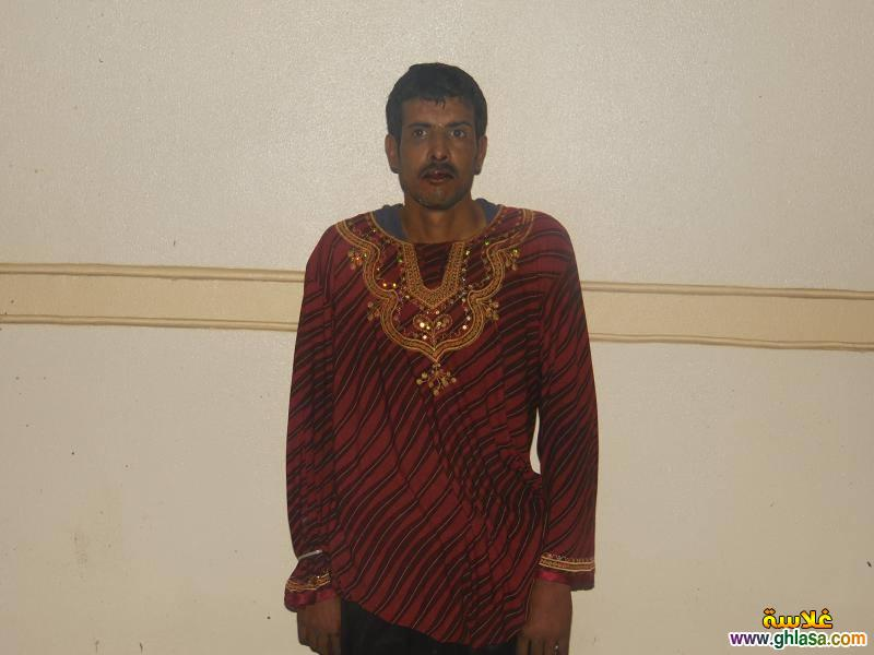 بالصور القبض على مسجل خطر متنكر فى ملابس نساء ghlasa1382991324061.jpg