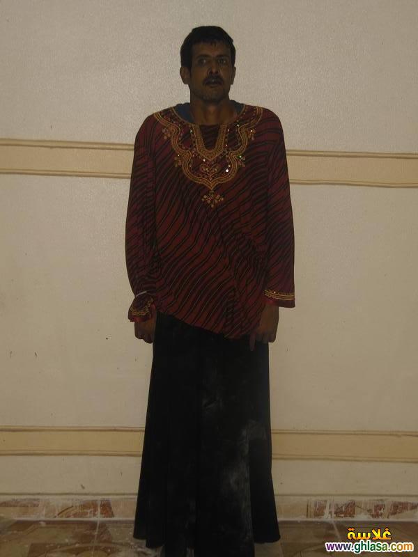 بالصور القبض على مسجل خطر متنكر فى ملابس نساء ghlasa1382991324173.jpg