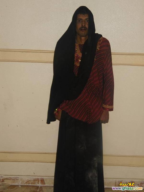 بالصور القبض على مسجل خطر متنكر فى ملابس نساء ghlasa1382991324234.jpg